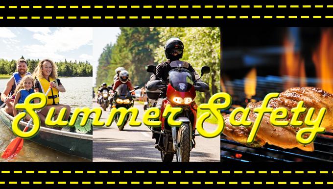 Summer Safety Banner