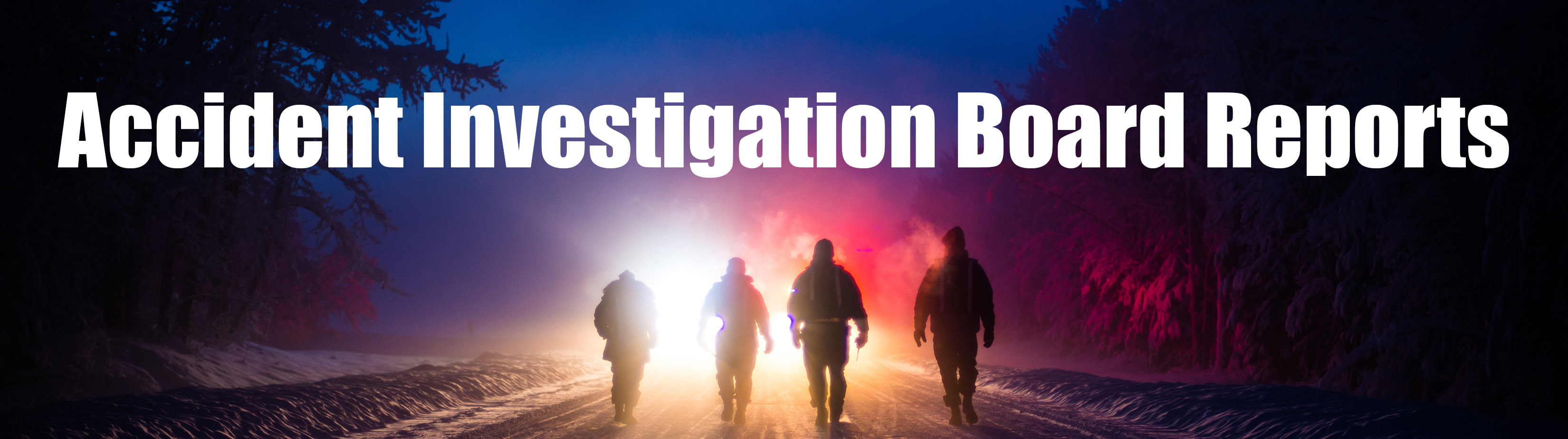 Link to Accident Investigation Board Reports