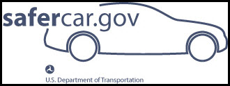 Link to National Highway Traffic Safety Administration's SaferCar.gov